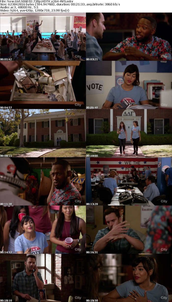 New Girl S06E02 720p HDTV x264-AVS