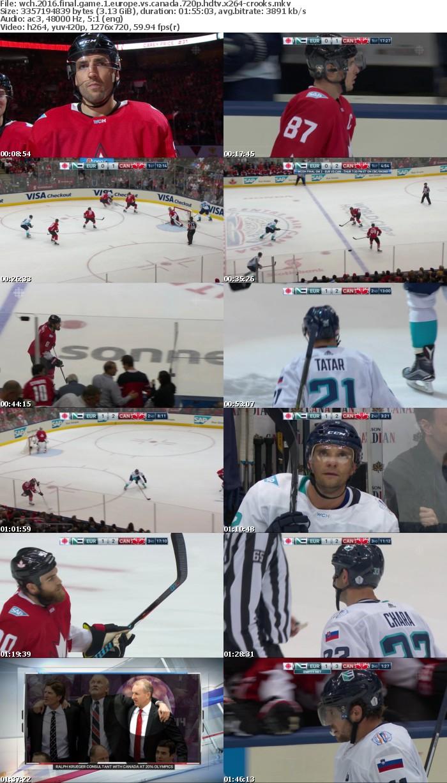 WCH 2016 Final Game 1 Europe vs Canada 720p HDTV x264-CROOKS