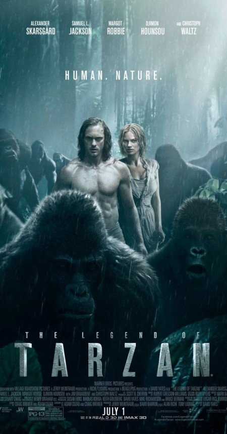 The Legend of Tarzan 2016 1080p BluRay H265 DTS AC3 AAC PapaFatHead