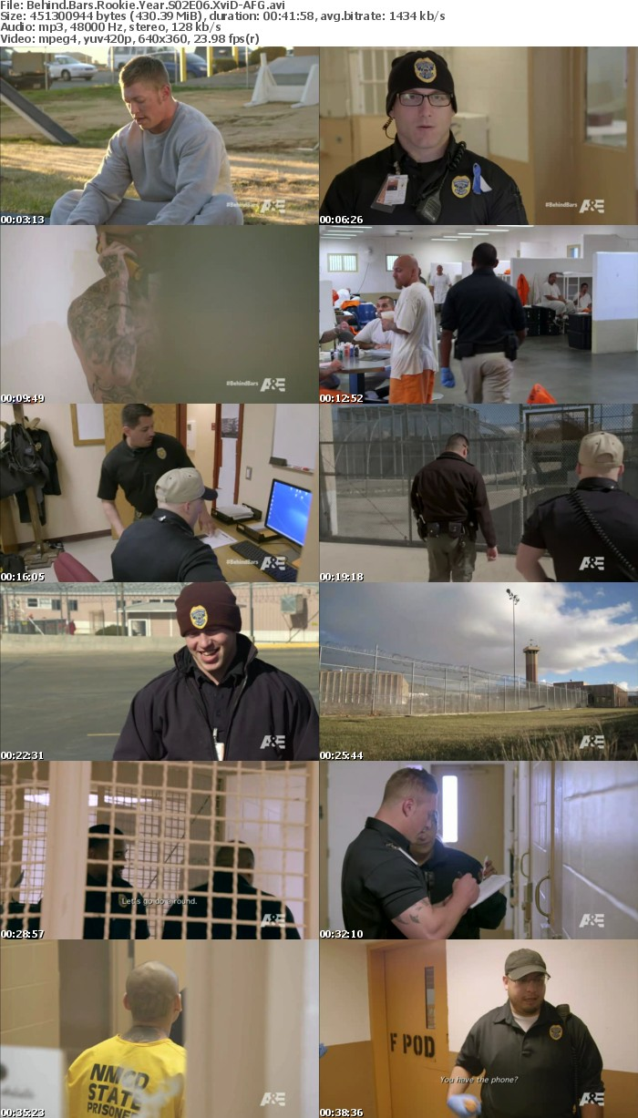 Behind Bars Rookie Year S02E06 XviD-AFG