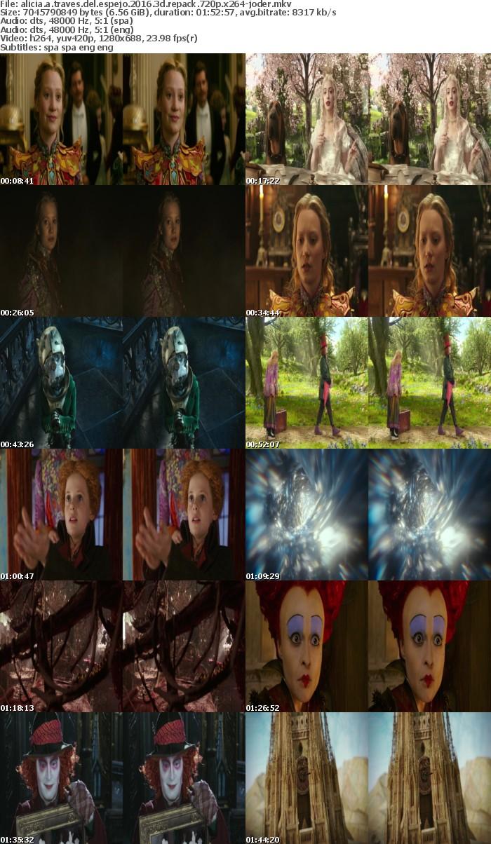Alicia A Traves Del Espejo 2016 3D REPACK SPANiSH MULTi 720p BluRay x264-JODER
