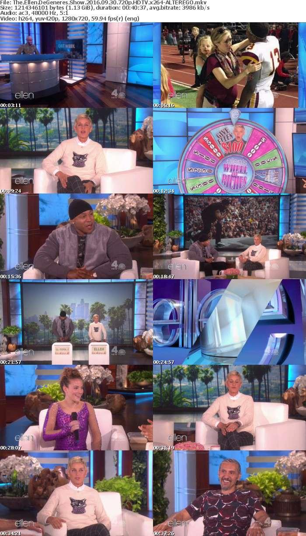 The Ellen DeGeneres Show 2016 09 30 720p HDTV x264-ALTEREGO