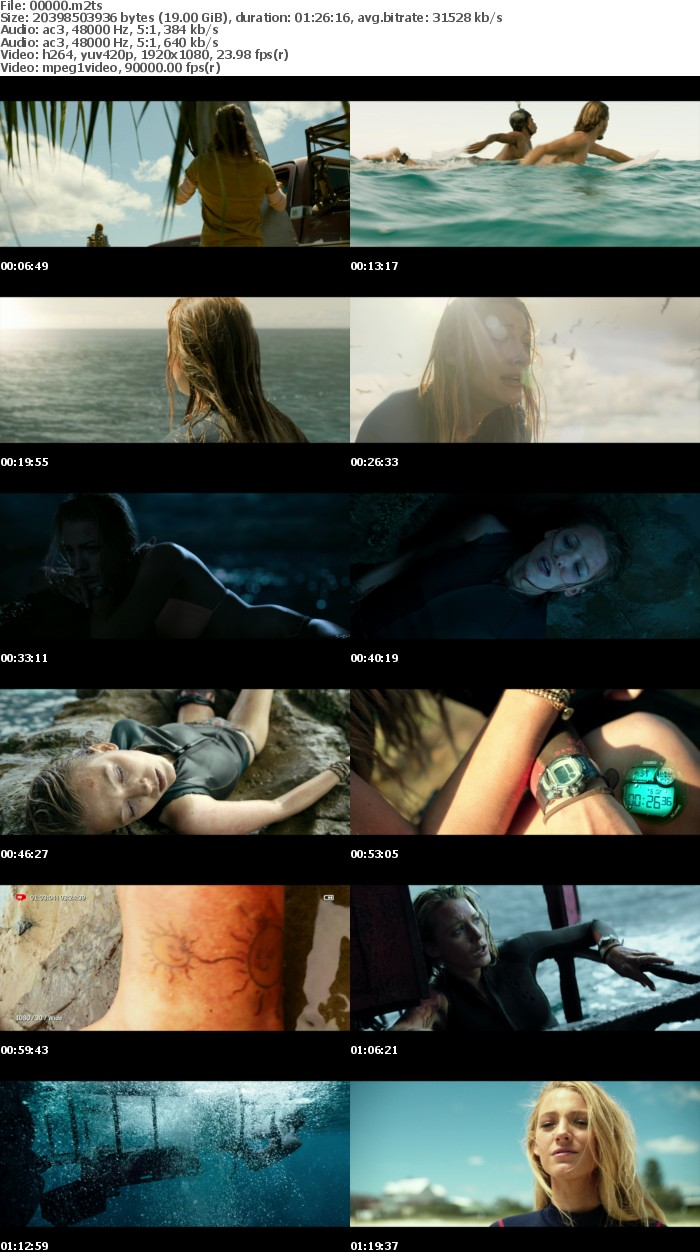 The Shallows (2016) 1080p BD-Remux