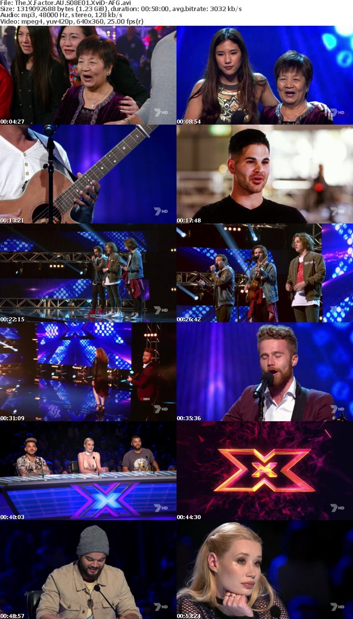 The X Factor AU S08E01 XviD-AFG
