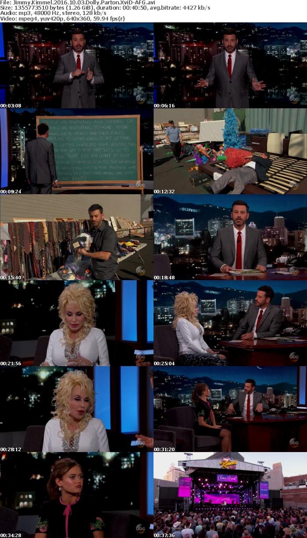 Jimmy Kimmel 2016 10 03 Dolly Parton XviD-AFG