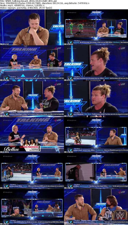 WWE Talking Smack 2016 10 04 XviD-AFG