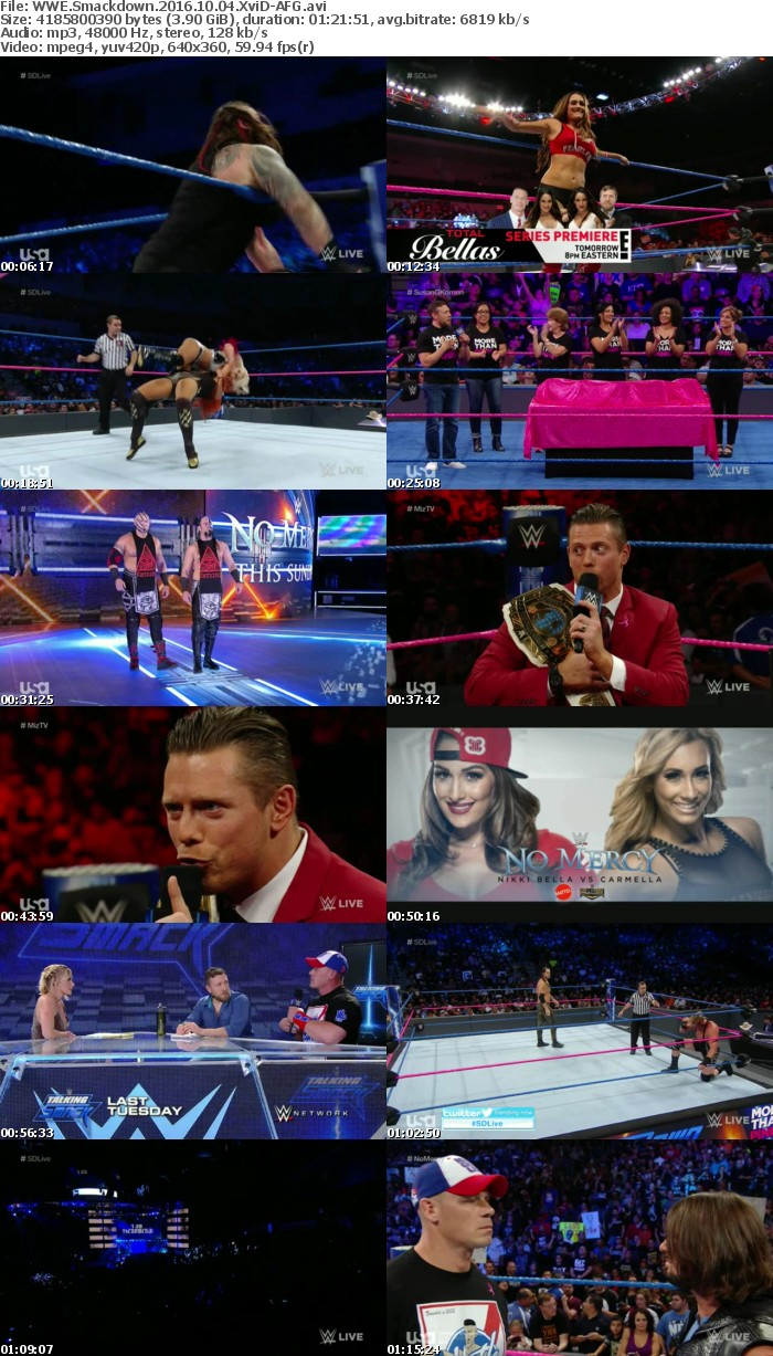 WWE Smackdown 2016 10 04 XviD-AFG