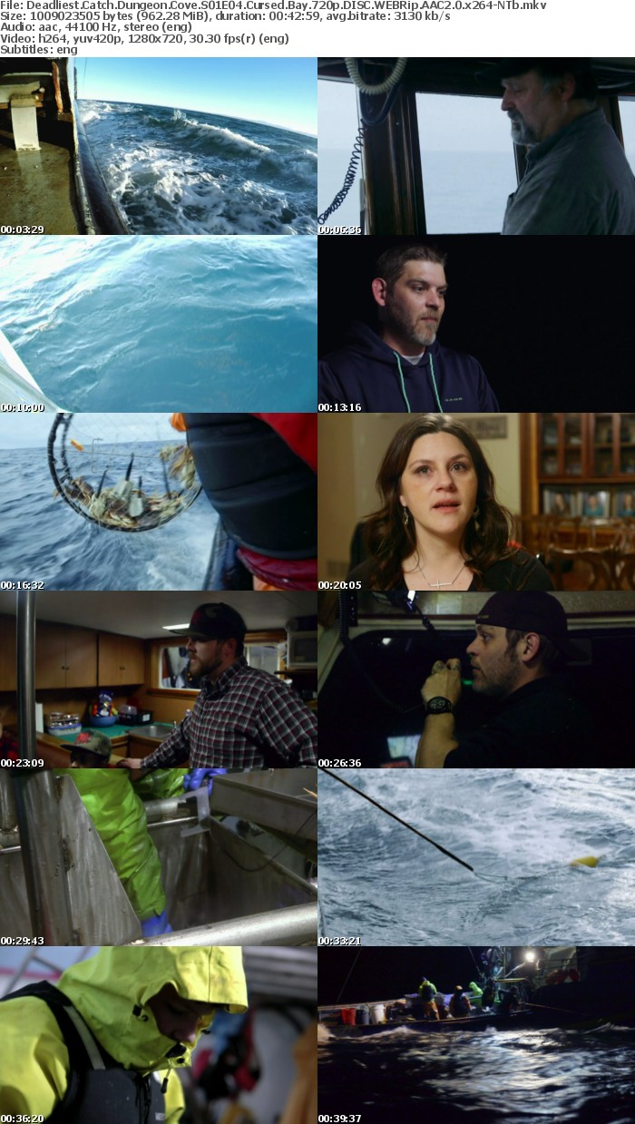 Deadliest Catch Dungeon Cove S01E04 Cursed Bay 720p DISC WEBRip AAC2 0 x264-NTb