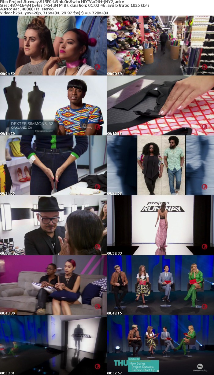 Project Runway S15E04 Sink Or Swim HDTV x264 NY2