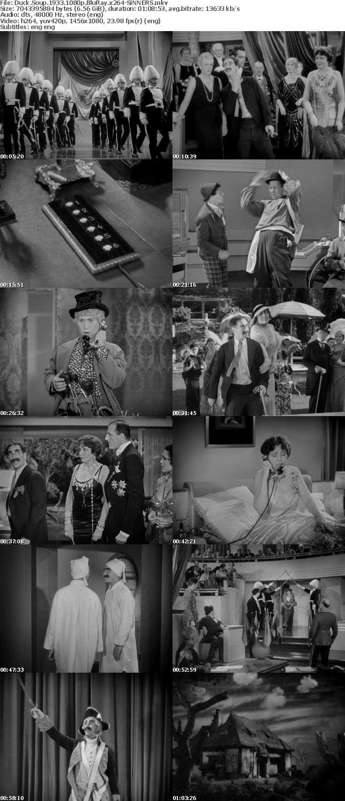 Duck Soup 1933 1080p BluRay x264-SiNNERS