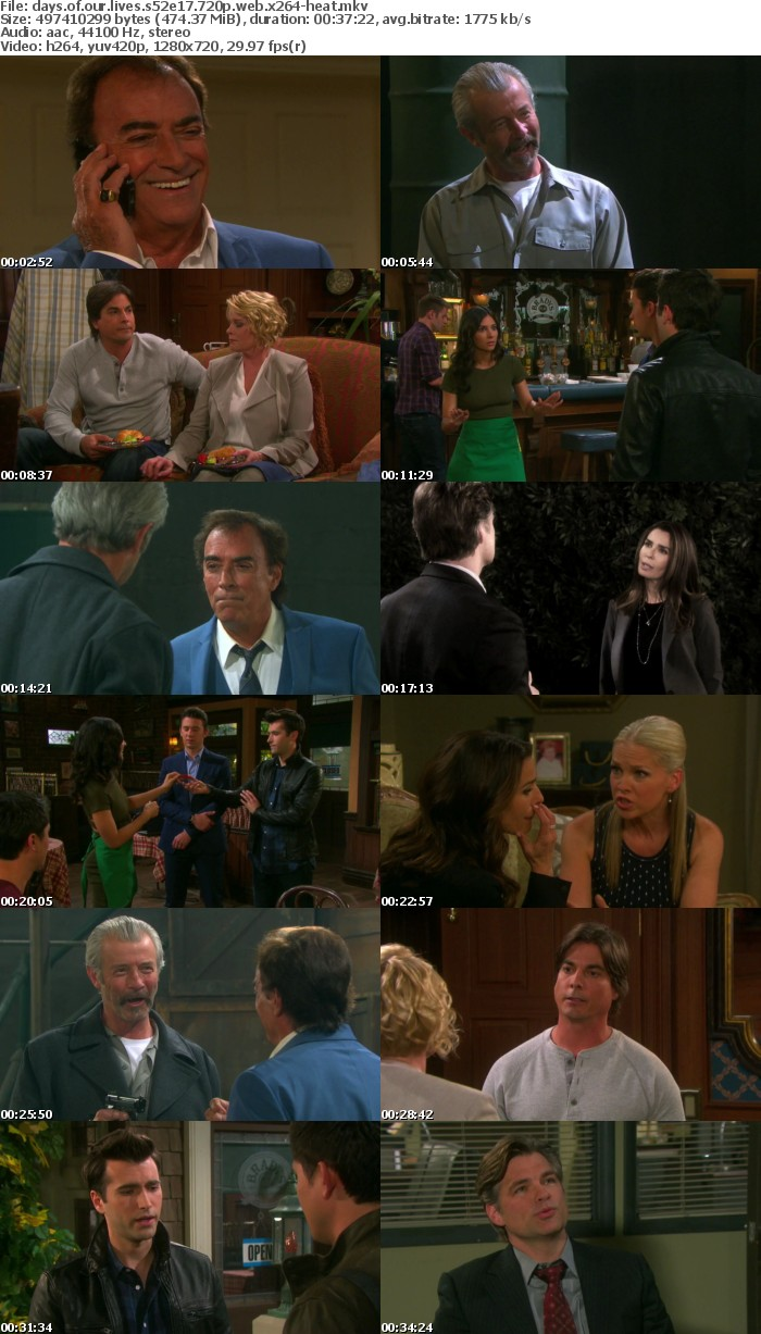 Days of our Lives S52E17 720p WEB x264-HEAT