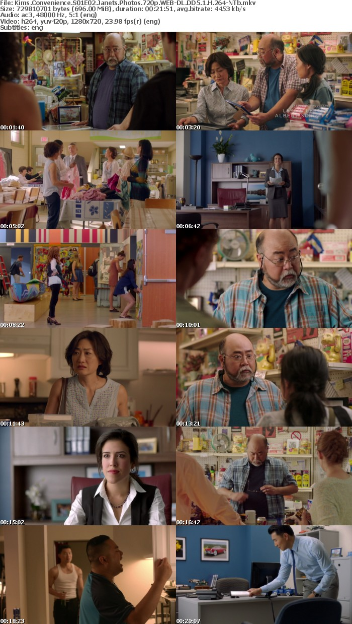 Kims Convenience S01E02 Janets Photos 720p WEB DL DD5 1 H 264 NTb