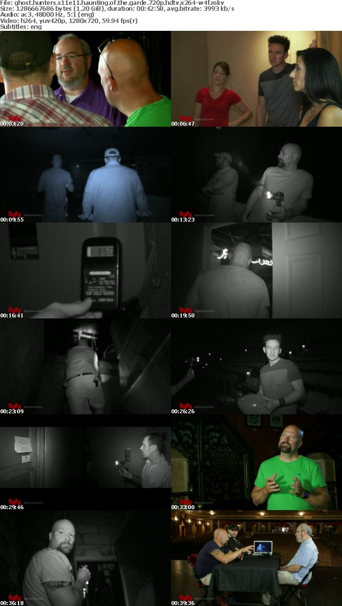 Ghost Hunters S11E11 Haunting of the Garde 720p HDTV x264-W4F