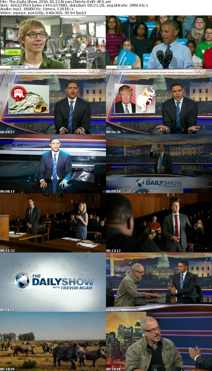 The Daily Show 2016 10 12 Bryan Christy XviD-AFG