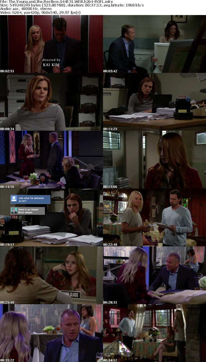 The Young and the Restless S44E31 WEB h264-ROFL