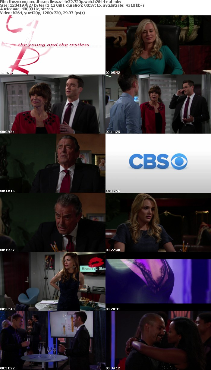 The Young and the Restless S44E32 720p WEB h264-HEAT