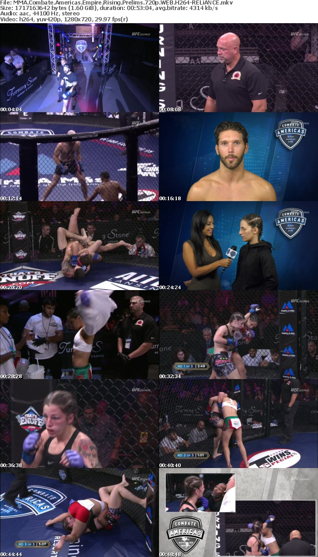MMA Combate Americas Empire Rising Prelims 720p WEB H264-RELiANCE