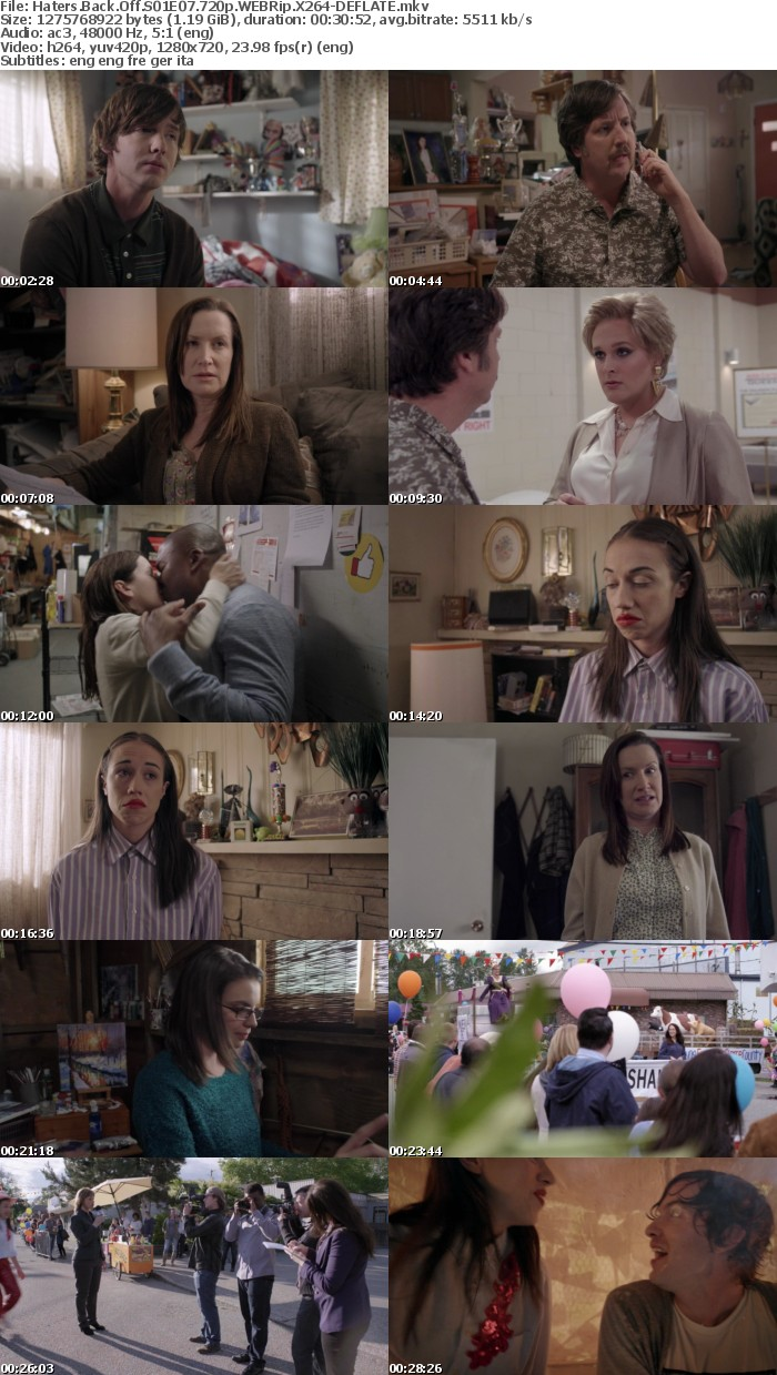 Haters Back Off S01 720p WEBRip X264-DEFLATE