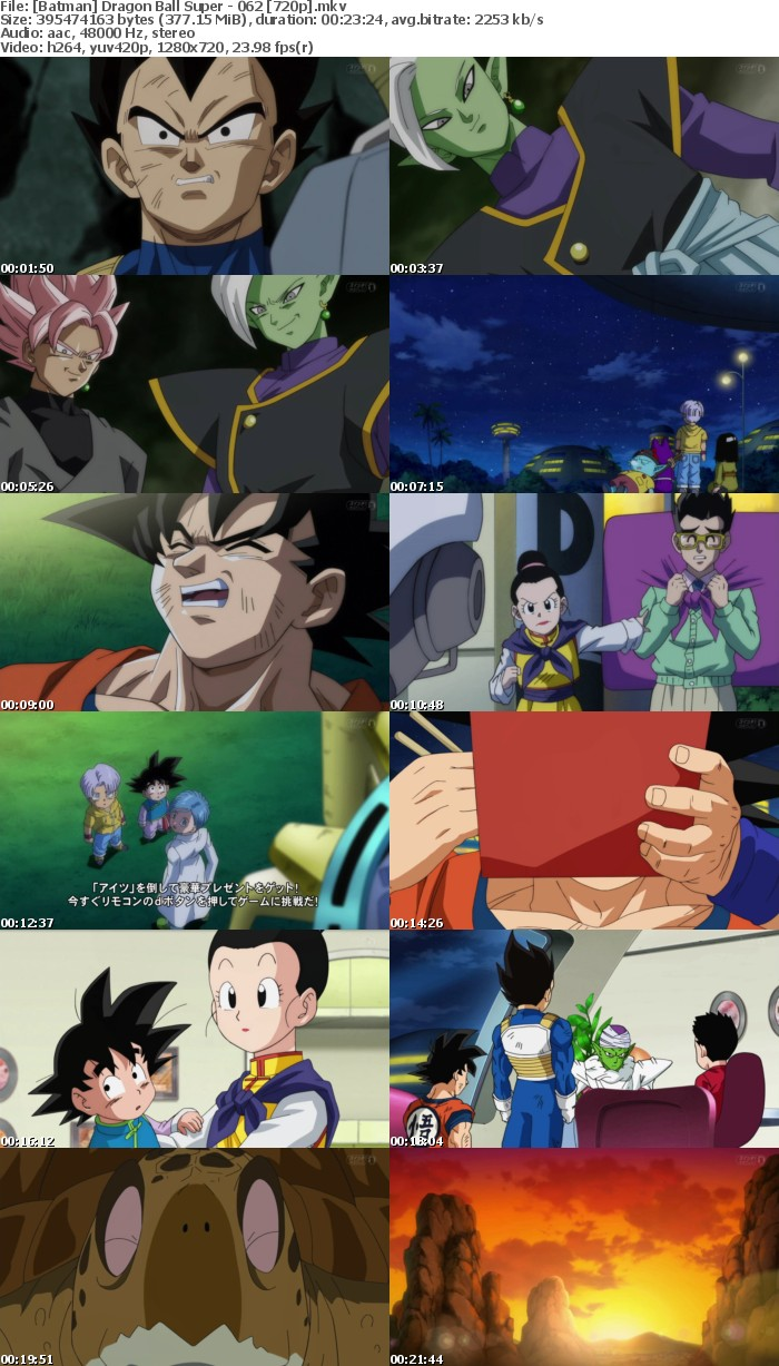 [Batman] Dragon Ball Super - 062 [720p]