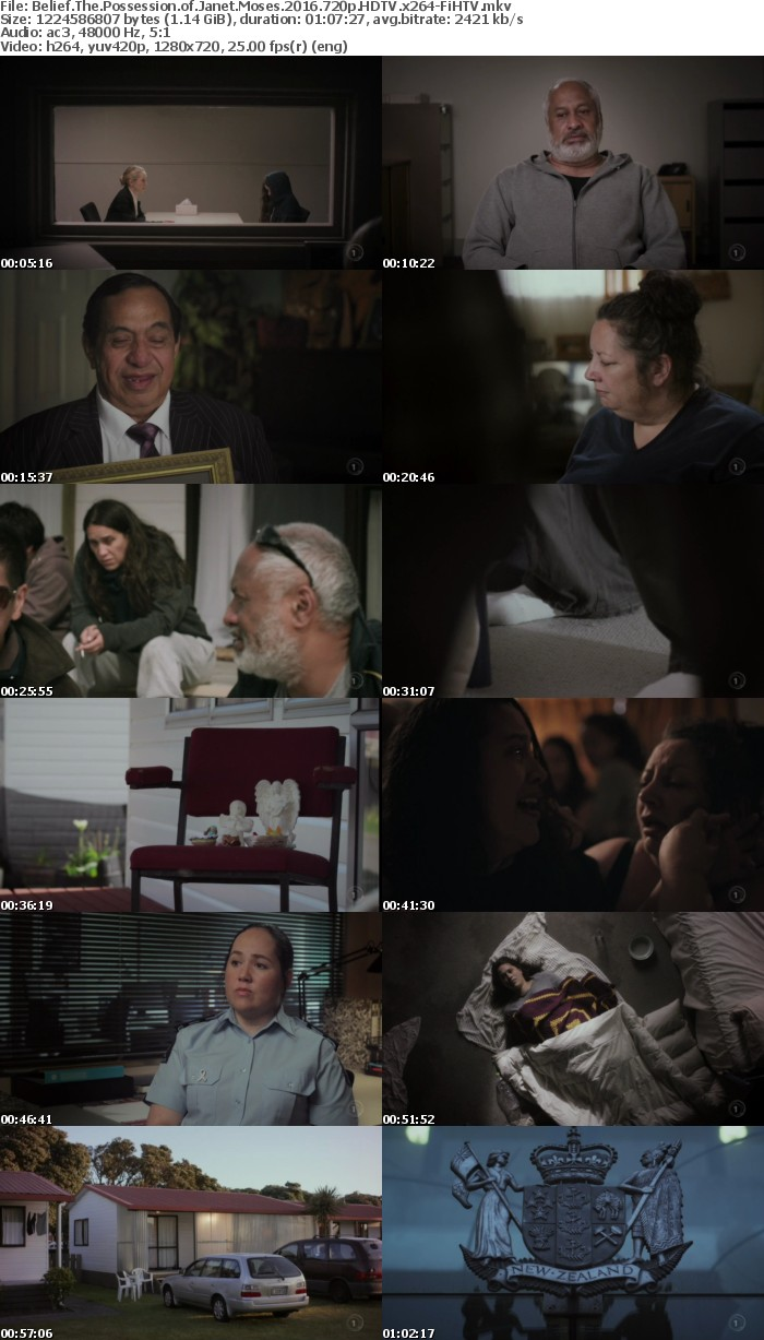 Belief The Possession of Janet Moses 2016 720p HDTV x264-FiHTV