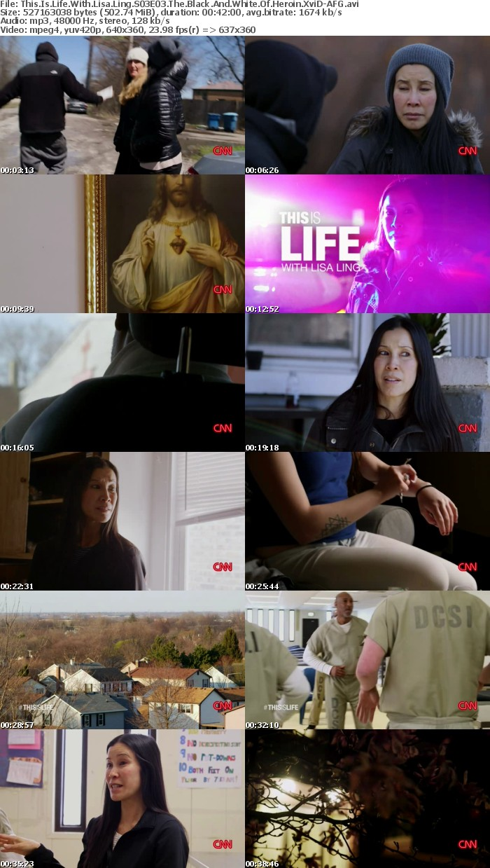 This Is Life With Lisa Ling S03E03 The Black And White Of Heroin XviD-AFG