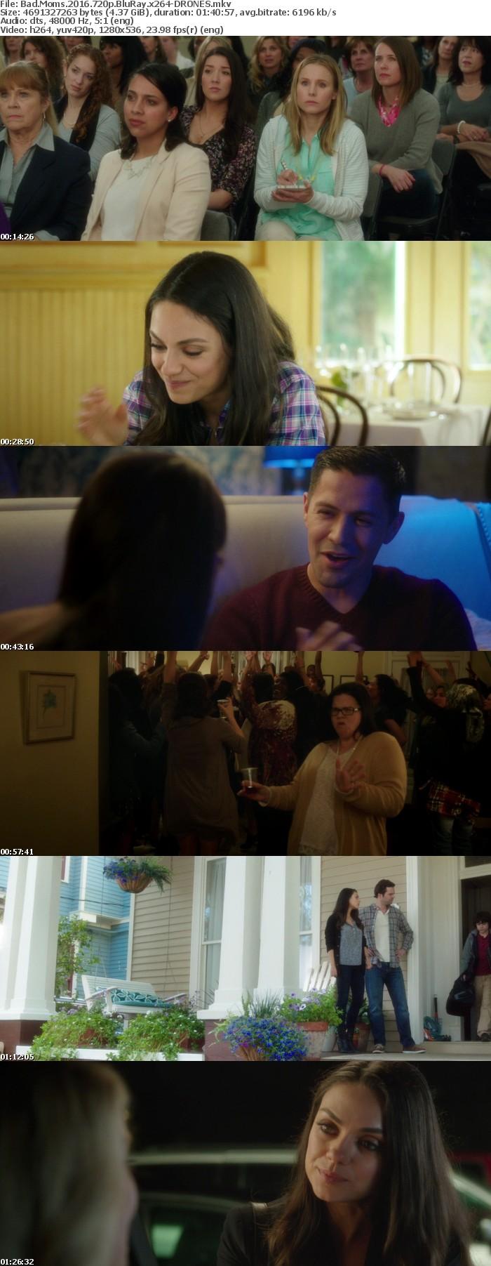 Bad Moms 2016 720p BluRay x264-DRONES