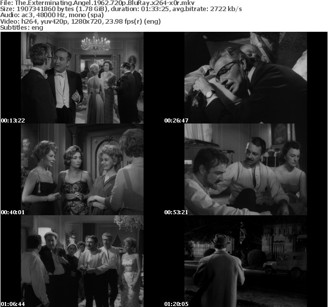 The Exterminating Angel 1962 720p BluRay x264-x0r