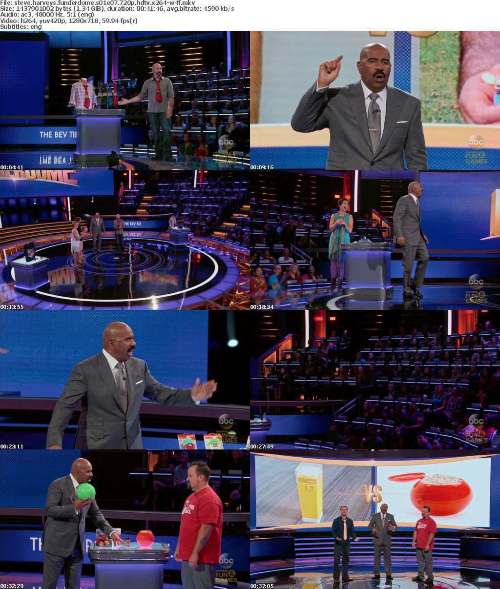 Steve Harveys FUNDERDOME S01E07 720p HDTV x264-W4F