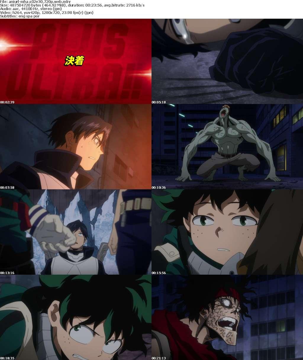 My Hero Academia S02E30 720p WEB x264-ANiURL