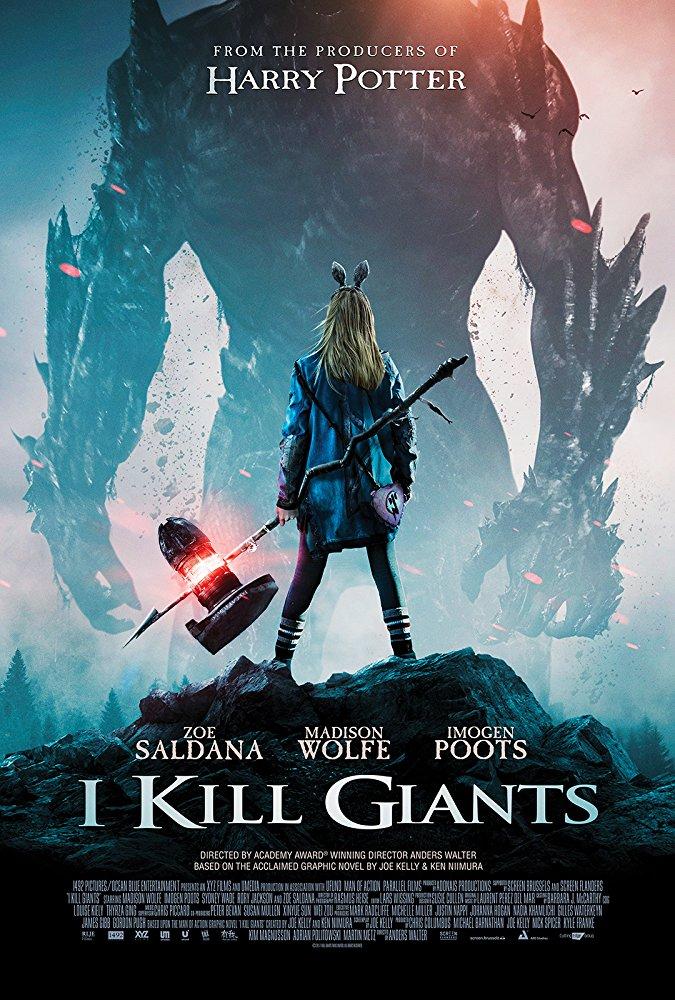 I Kill Giants 2018 HDRip XviD AC3-EVO