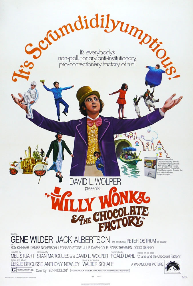 Willy Wonka and the Chocolate Factory 1971 BluRay 10Bit 1080p DD5 1 H265-d3g