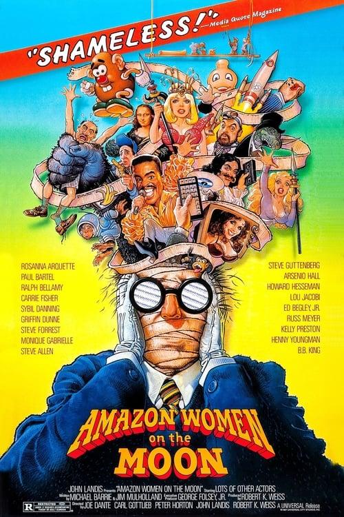 Amazon Women on the Moon 1987 COMPLETE BLURAY-UNRELiABLE