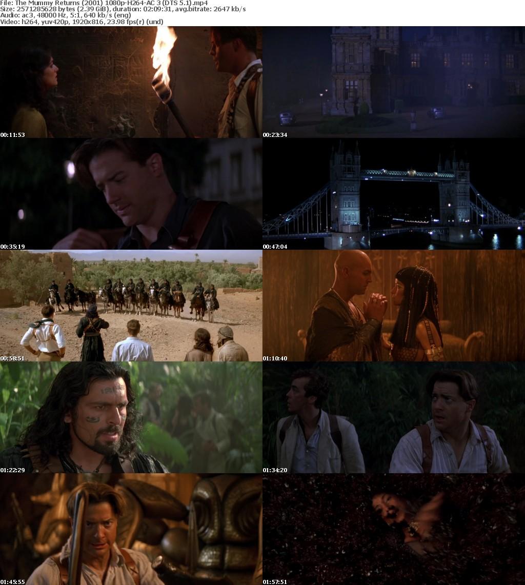 The Mummy Returns (2001) 1080p BluRay H264 AC 3-nickarad