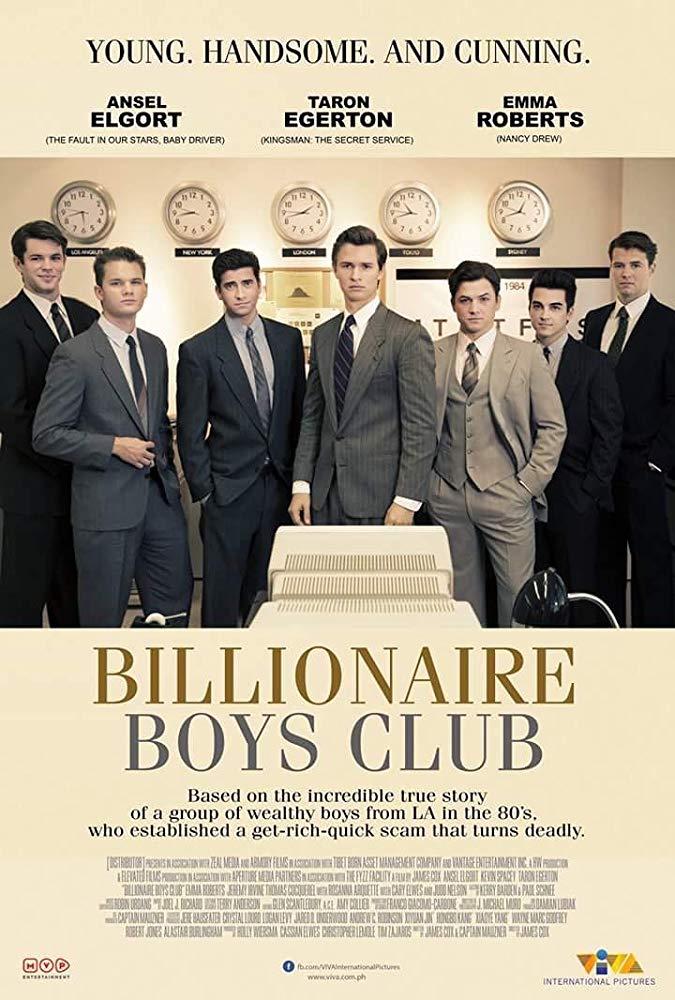 Billionaire Boys Club (2018) BDRip XviD AC3-EVO