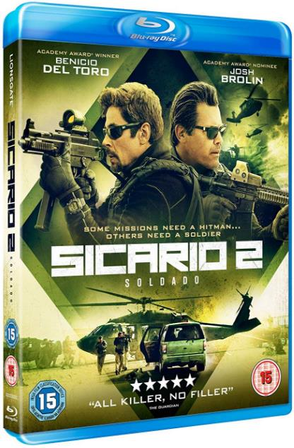 Sicario Day of the Soldado (2018) 720p BluRay x264 6CH 1 1GB ESubs - MkvHub