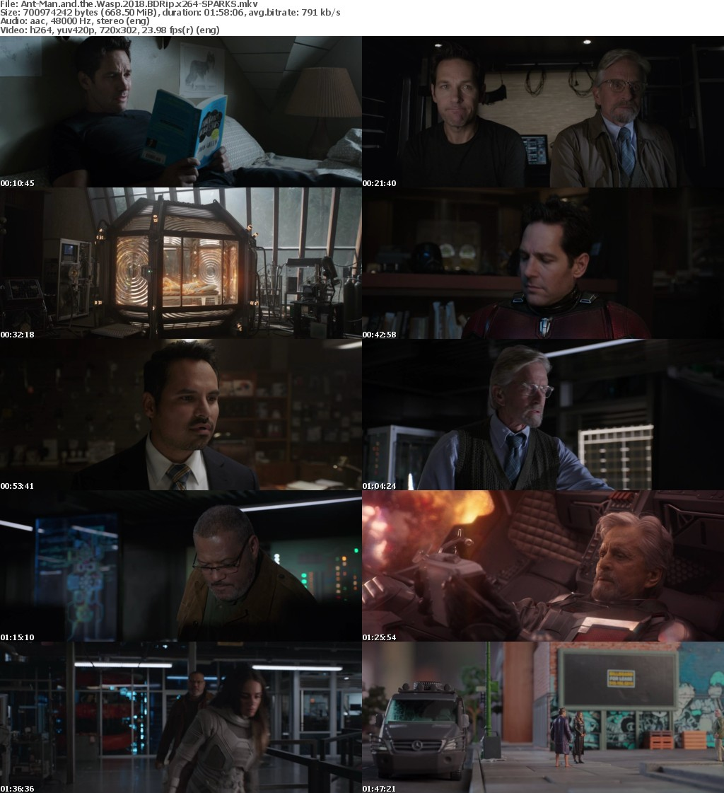 Ant-Man and the Wasp (2018) BDRip x264-SPARKS