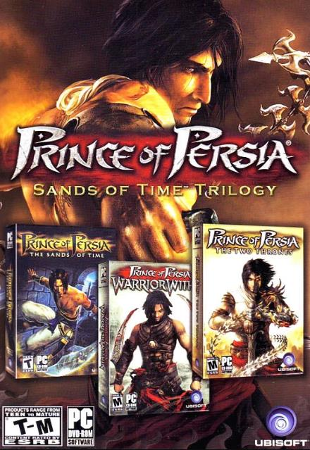 Prince of Persia Trilogy PC Games incl Goodies-CorePack