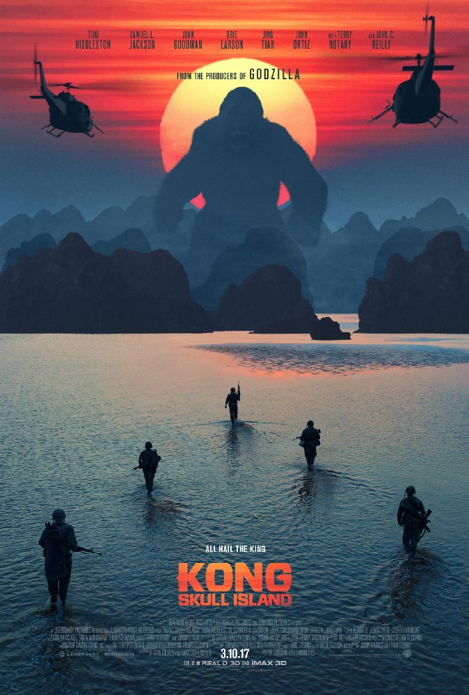 Kong Skull Island 2017 720p BluRay x264 Hindi DD 5 1 LLG