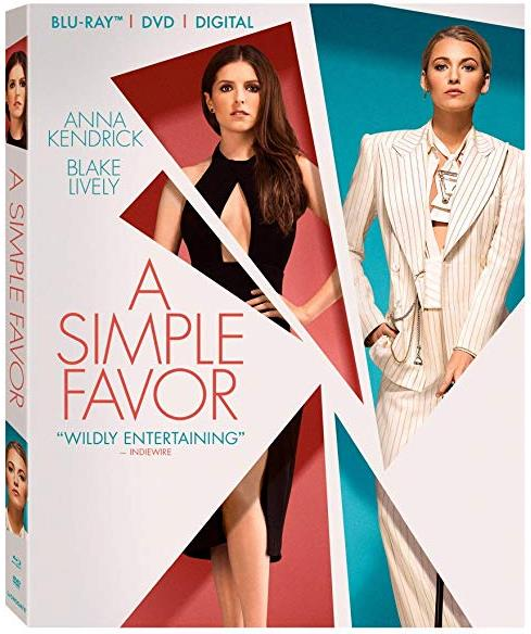 A Simple Favor (2018) BRRip XviD AC3-EVO
