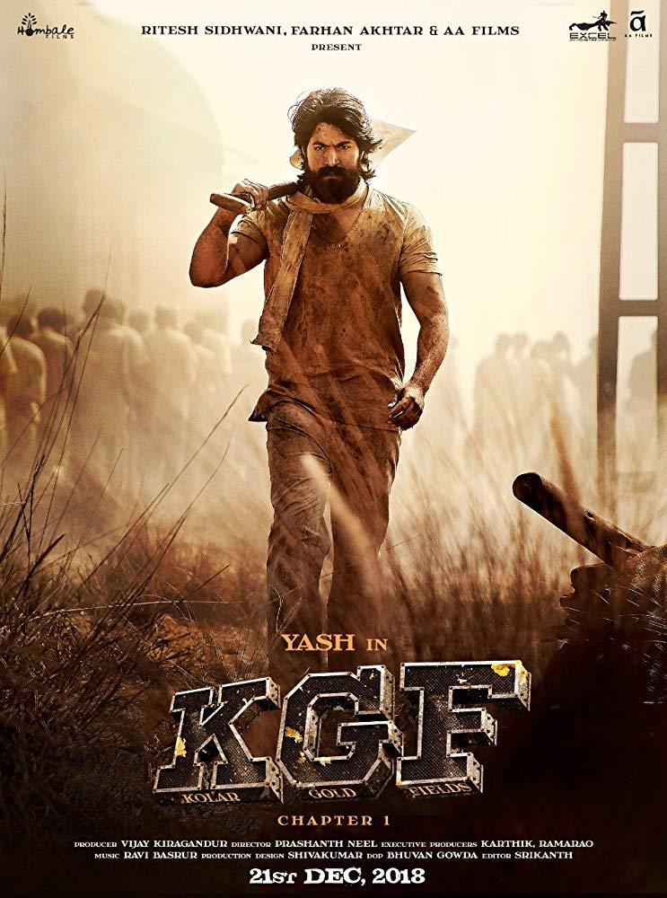 KGF - Chapter 1 2018 720p AMZN WeB DL H264 DDP 5 1 DTOne