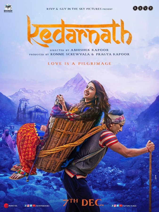 Kedarnath 2018 Hindi 720p HDRip x264 AAC -UnknownStAr [Telly]
