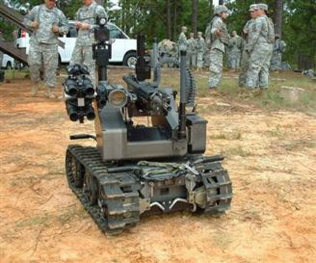 Lethal Robot Soldiers