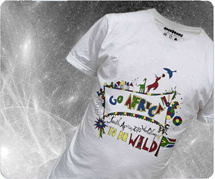 South Africa 2010 World Cup, To be WILD design by Jackdoans