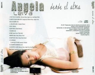 Angela Leiva - Desde El Alma (2011) Mediafire 932945094cd286dc187d5e96a8572d8126af698