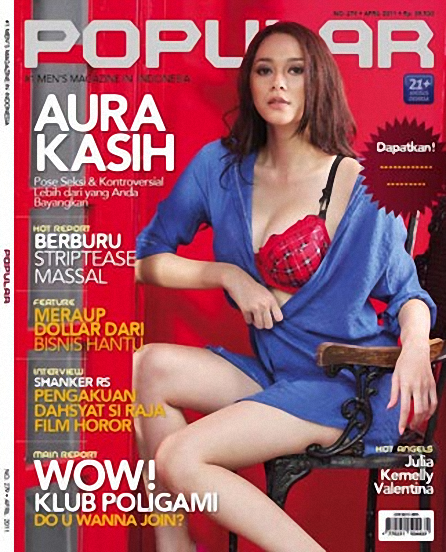9387050614b2e34822bd1caa41d6760a5dd6e93 - Aura Kasih Cover Majalah Popular April 2011