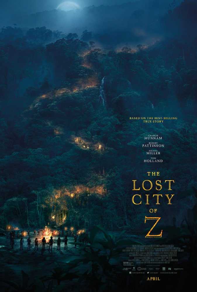 The Lost City of Z 2016  10bit BluRay 5 1 x265 HEVCMZABI
