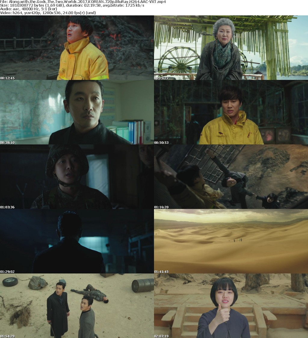 Along with the Gods The Two Worlds 2017 KOREAN 720p BluRay H264 AAC-VXT