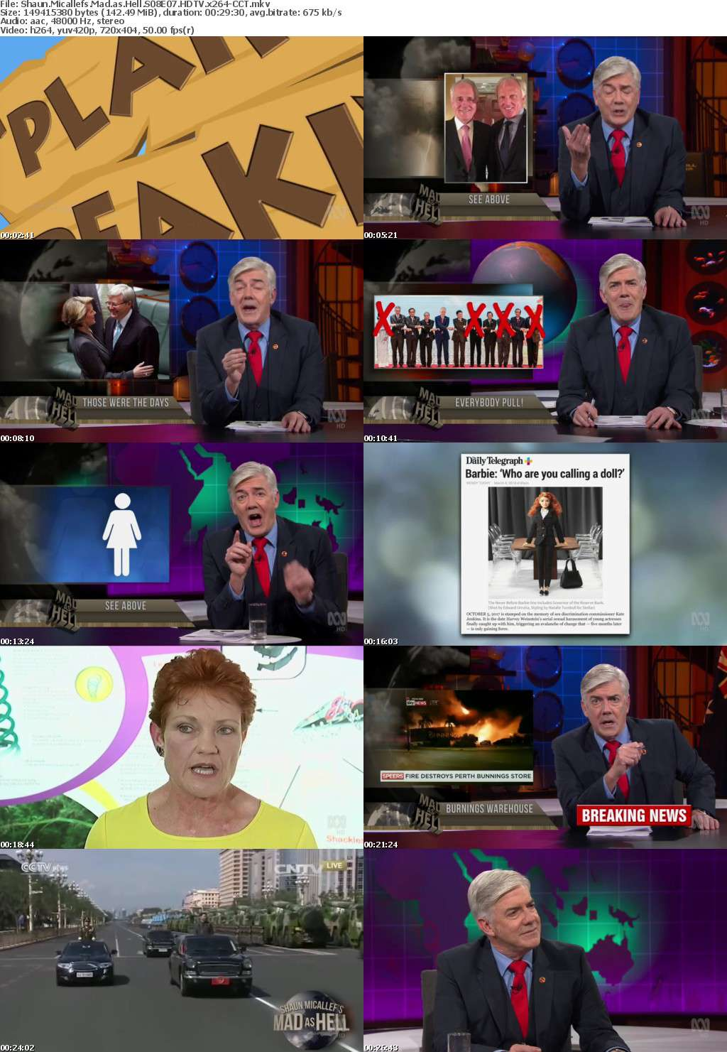 Shaun Micallefs Mad as Hell S08E07 HDTV x264-CCT