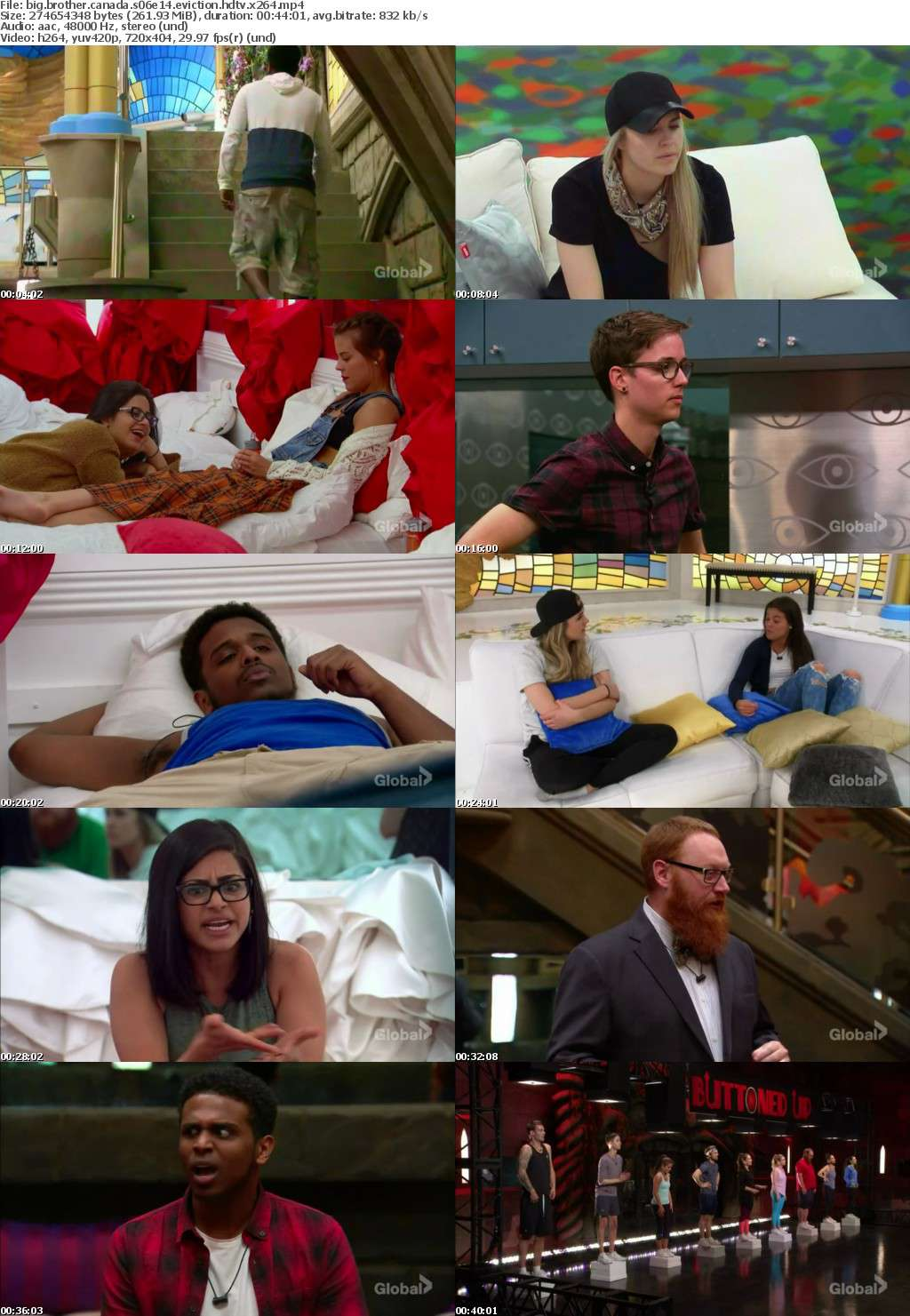 big brother canada s06e14 eviction hdtv x264