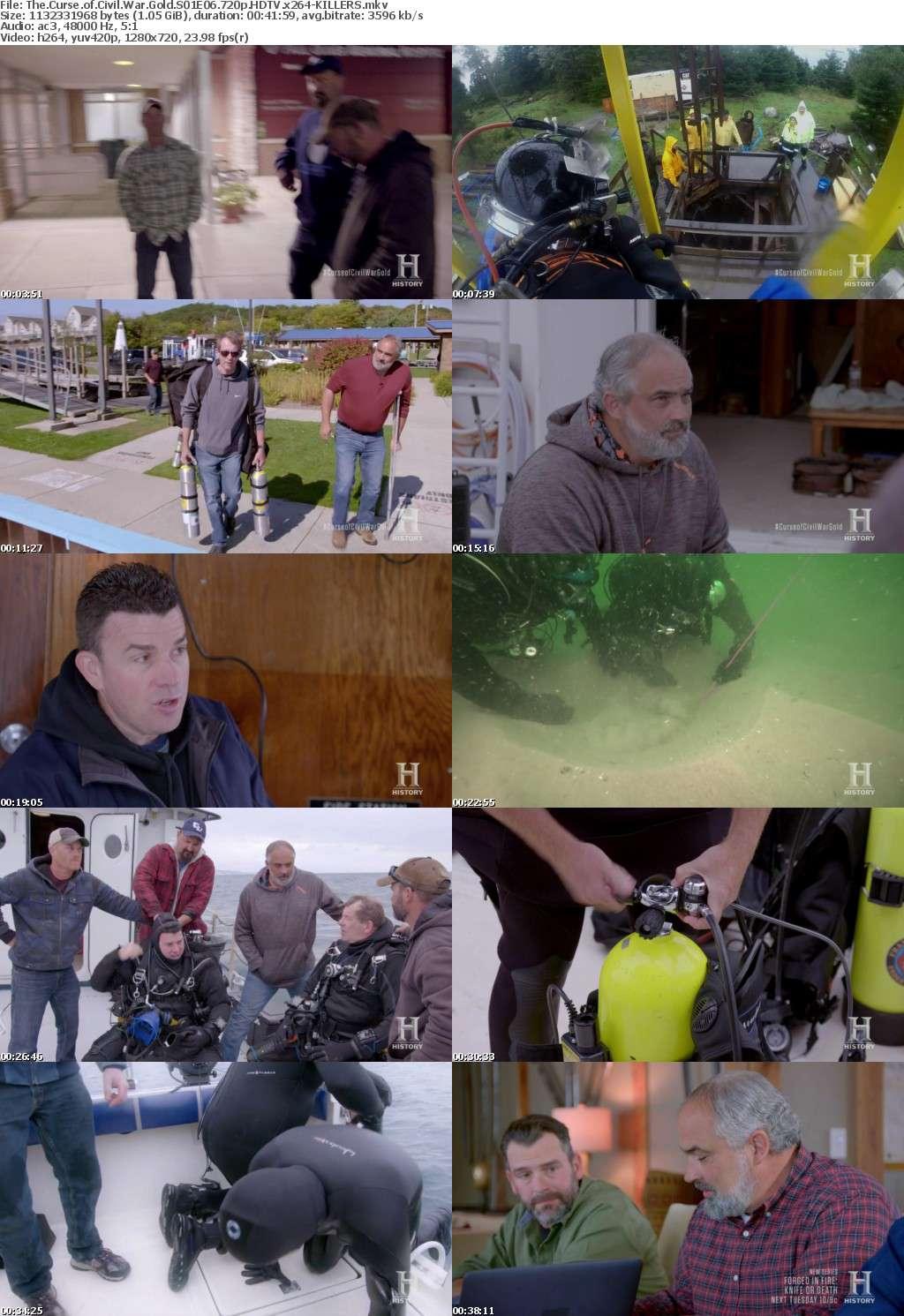 The Curse of Civil War Gold S01E06 720p HDTV x264-KILLERS
